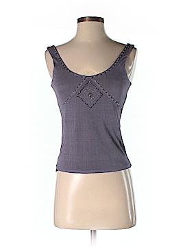 City DKNY Sleeveless Silk Top Size XS