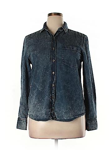 Mudd Long Sleeve Button-Down Shirt Size XL