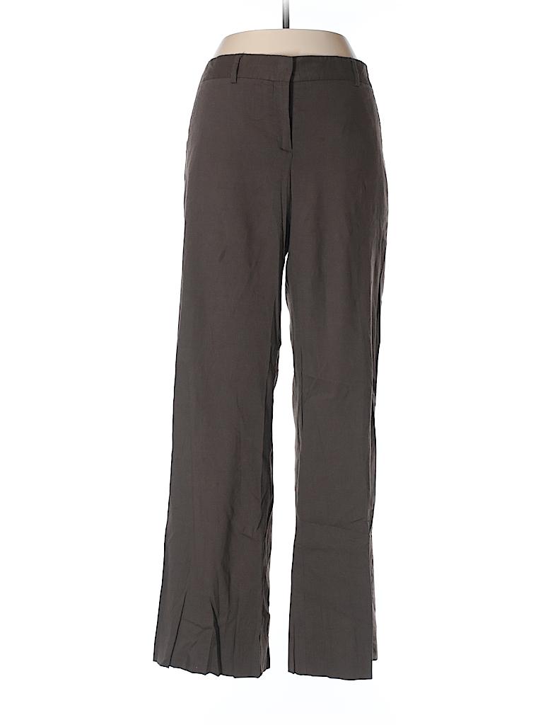 Theory Women Linen Pants Size 10