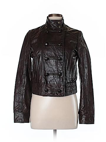 Topshop Leather Jacket Size 12