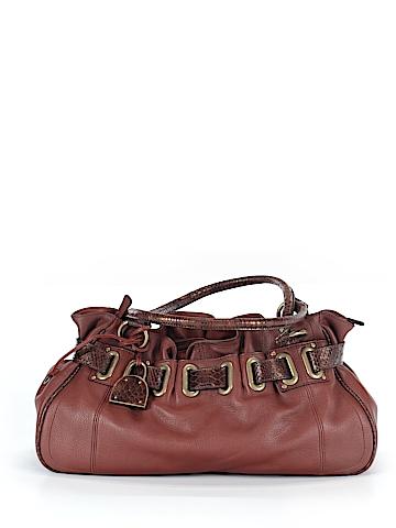 Adrienne Vittadini Leather Satchel One Size