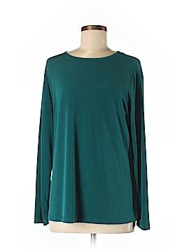 Susan Graver Long Sleeve Top Size M