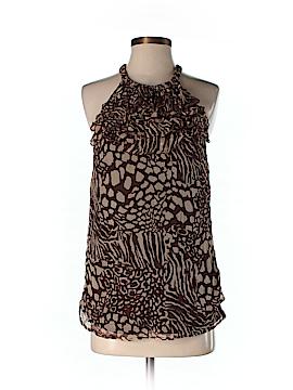 Marina Luna Sleeveless Silk Top Size S