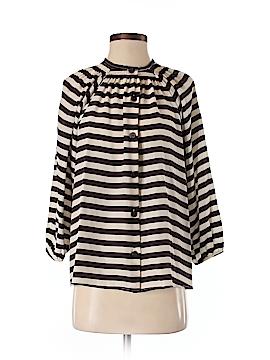 Tucker 3/4 Sleeve Silk Top Size S