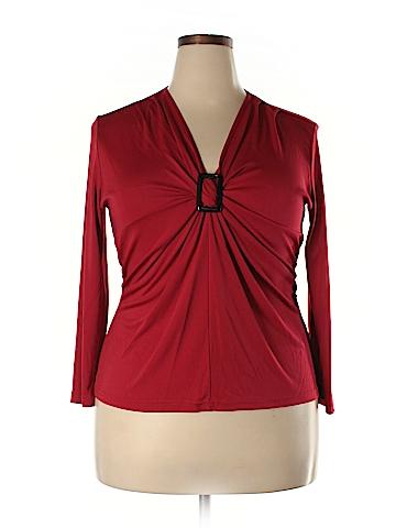 Donna Toran Long Sleeve Top Size XL