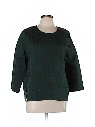 J. Crew 3/4 Sleeve Blouse Size 10