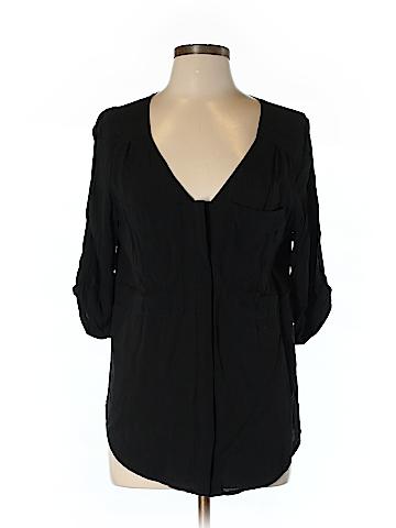 Edme & Esyllte 3/4 Sleeve Button-Down Shirt Size 10
