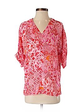 Natori 3/4 Sleeve Blouse Size XS