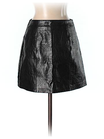 Michael Hoban Leather Skirt Size 4