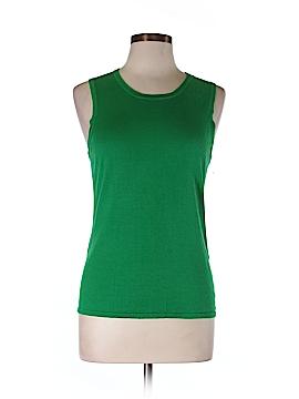 Black Saks Fifth Avenue Sleeveless T-Shirt Size L