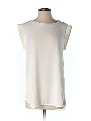 J. Crew Short Sleeve Blouse Size 4 (Tall)