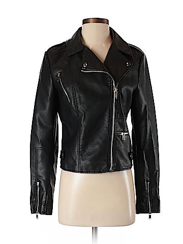 Vero Moda Faux Leather Jacket Size M