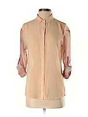 Bar III Women Long Sleeve Blouse Size XS