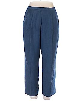Kasper Linen Pants Size 16