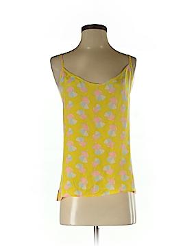 Tucker Sleeveless Silk Top Size XS