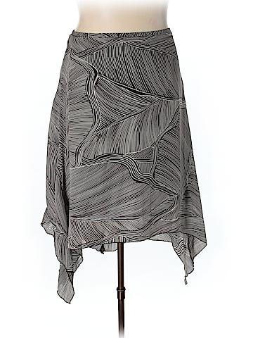 Nygard Collection Silk Skirt Size 18 (Plus)
