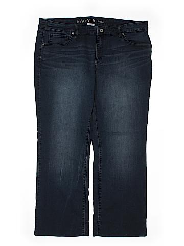 Ava & Viv Jeans Size 20W (Plus)