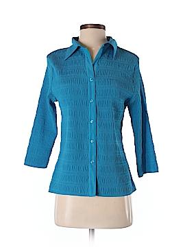 Claudia Richard 3/4 Sleeve Blouse Size M