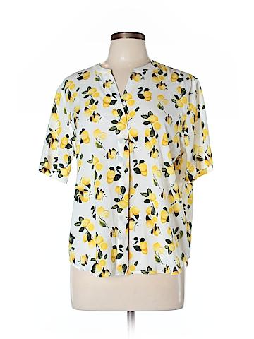 Dalia Short Sleeve Blouse Size L