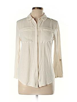 Ann Taylor Long Sleeve Button-Down Shirt Size M