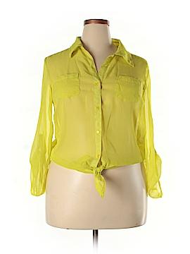 L.e.i. Long Sleeve Blouse Size 19 (Plus)