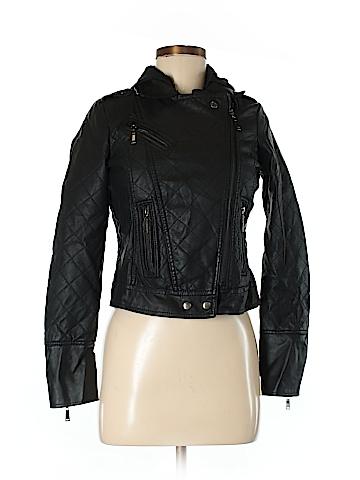 J2 Faux Leather Jacket Size XS