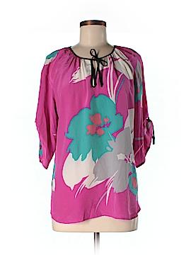 Yumi Kim 3/4 Sleeve Silk Top Size L