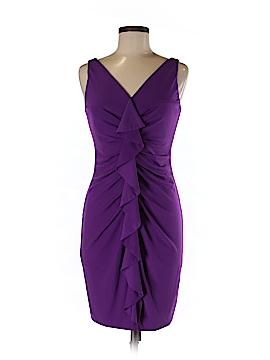 Suzi Chin for Maggy Boutique Casual Dress Size 6 (Petite)