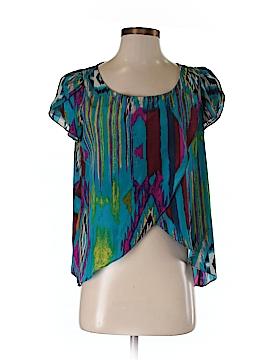 Love Riche Short Sleeve Blouse Size M