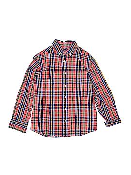 JK Kids Long Sleeve Button-Down Shirt Size M (Kids)