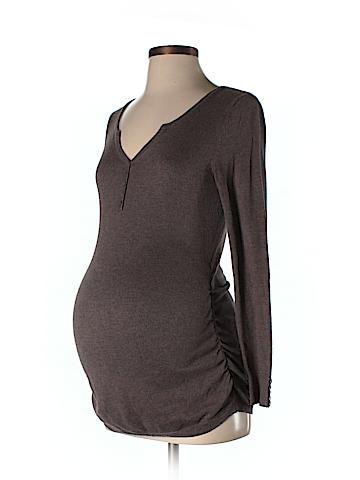 Motherhood Long Sleeve Henley Size S (Maternity)