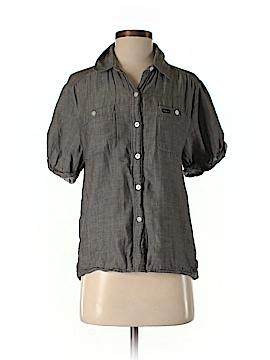 RVCA Short Sleeve Button-Down Shirt Size S