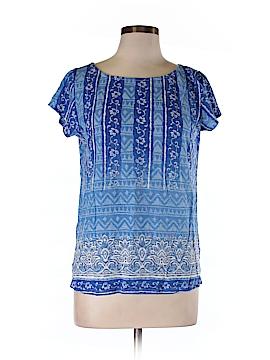 Blue Saks Fifth Avenue Short Sleeve T-Shirt Size M