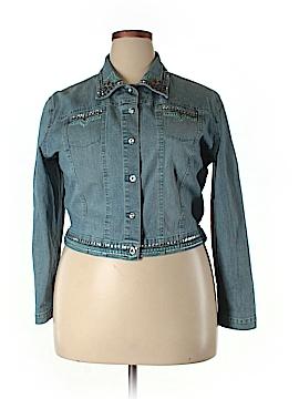 CHRISTINE ALEXANDER Denim Jacket Size XL