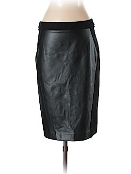 Ann Taylor LOFT Faux Leather Skirt Size 4 (Tall)