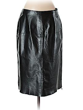 Banana Republic Leather Skirt Size 4