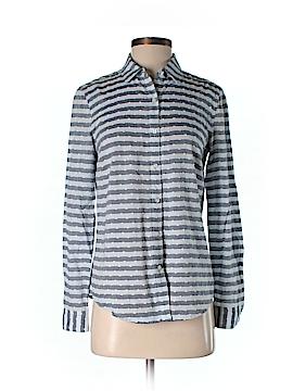 J. McLaughlin Long Sleeve Button-Down Shirt Size 2
