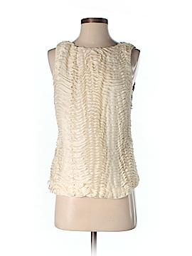 Nicole Miller Artelier Sleeveless Top Size S