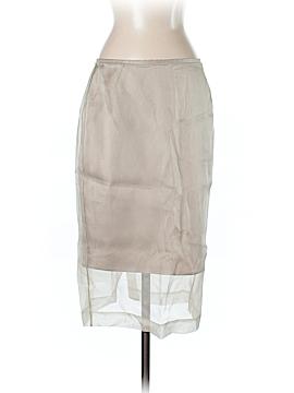 Lafayette 148 New York Silk Skirt Size 4