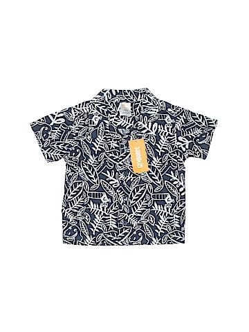 Gymboree Short Sleeve Button-Down Shirt Size 12-18 mo