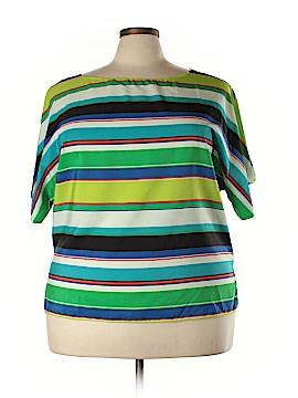 Vince Camuto Short Sleeve Blouse Size 18 (Plus)