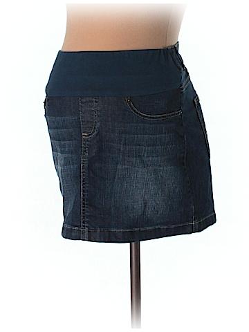 Seraphine Denim Skirt Size 6 (Maternity)