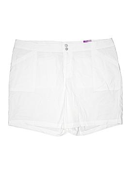 Lane Bryant Khaki Shorts Size 28 (Plus)