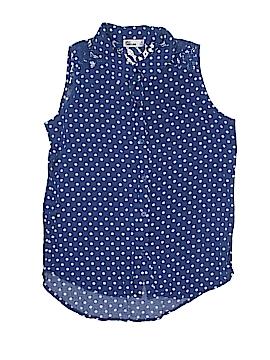Epic Threads Sleeveless Button-Down Shirt Size X-Large (Kids)