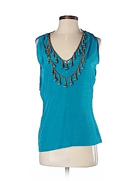 Ranna Gill Sleeveless Silk Top Size S