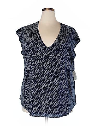 Old Navy Short Sleeve Blouse Size XXL