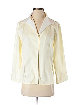 Sao Paulo Long Sleeve Button-Down Shirt Size 4