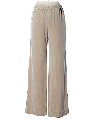 St. John Sport Velour Pants Size XL