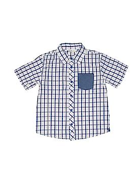 Beebay Short Sleeve Button-Down Shirt Size 8