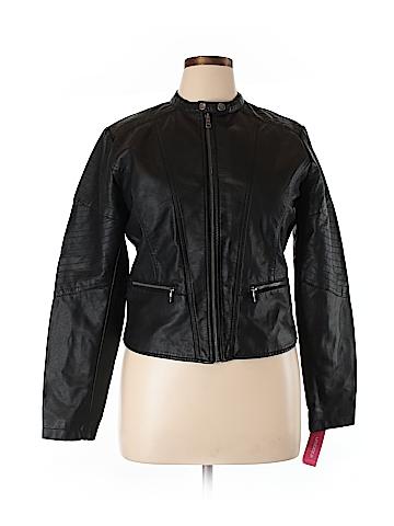 Xhilaration Faux Leather Jacket Size XL